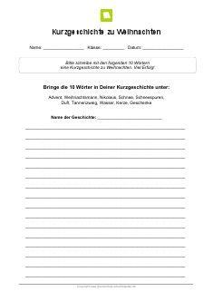 Deutsch aufsatz kurzgeschichte englisch aufsatz hotel