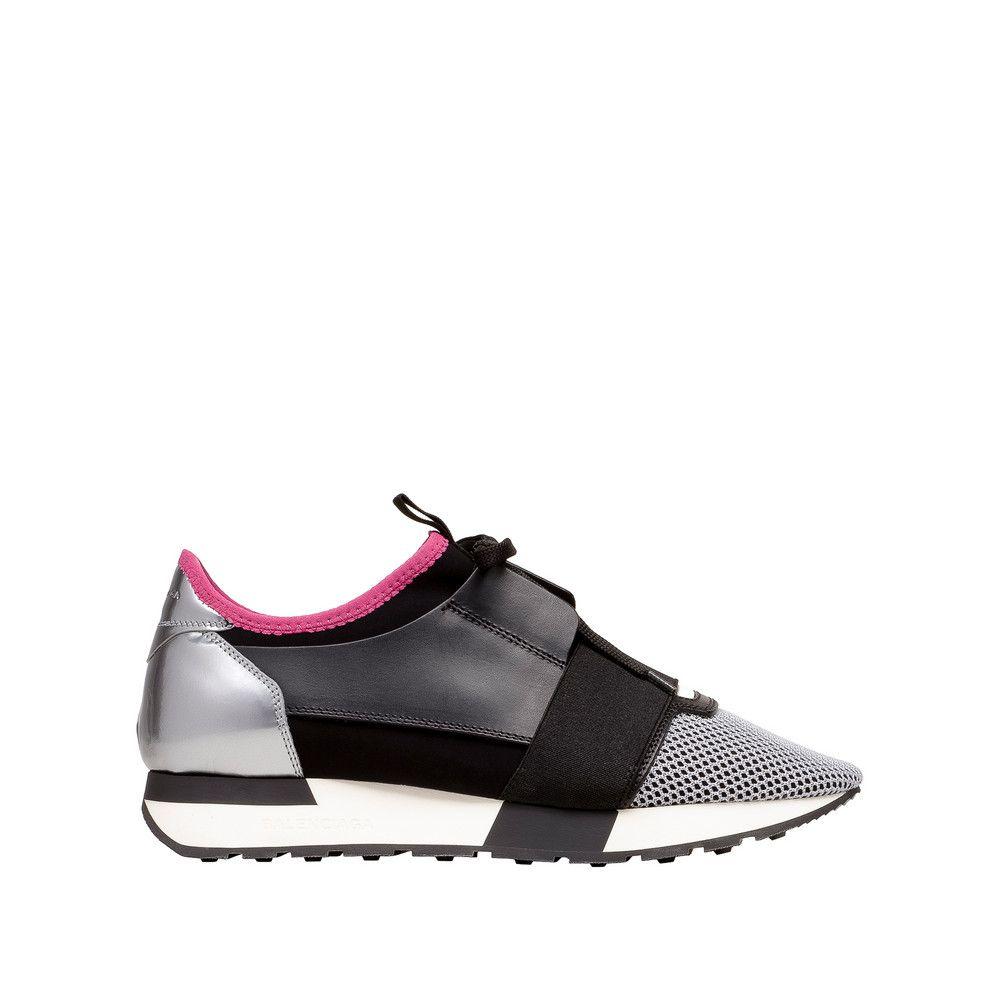 Satin Cuir Classique - Chaussures De Sport Pour Femmes / Argent Violet UifCnaBMA