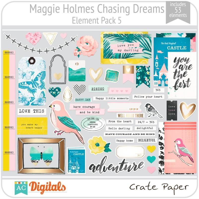 Maggie holmes chasing dreams element pack 5 chasing