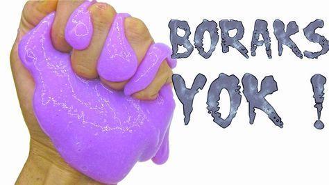 Slime Nasıl Yapılır Borakssız Tarifi Slimenasılyapılıyoutube