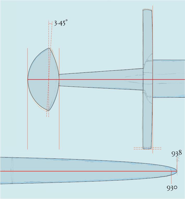 12th century Söborg Sword study