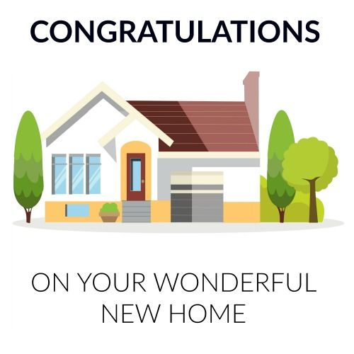 Couldn T Make It For Your Friend S House Warming Party Make Up For It With A Warm Congratulations Wis Congratulations New Home New Home Cards New Home Wishes