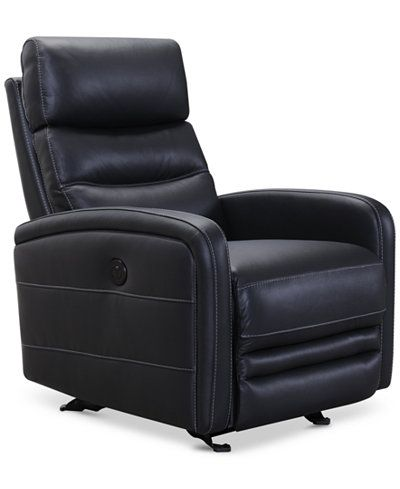 Jensen Leather Power Recliner Recliner Chair Power Recliners