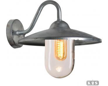 Buitenlamp Muurlamp Brig - Grijs - RVS - KS Verlichting | Buiten ...