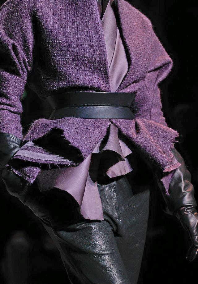 Haider Ackermann Mode Purple Mode S Habiller