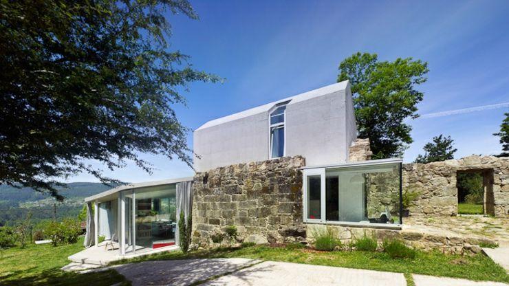 Exemple créative du0027une maison à rénover en Espagne - exemple de facade de maison