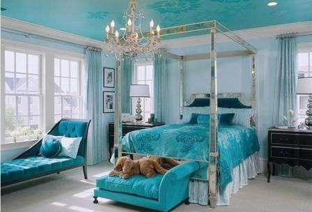 Kamar Tidur Warna Biru Laut Pilihan Warna Cat Kamar Tidur Yang