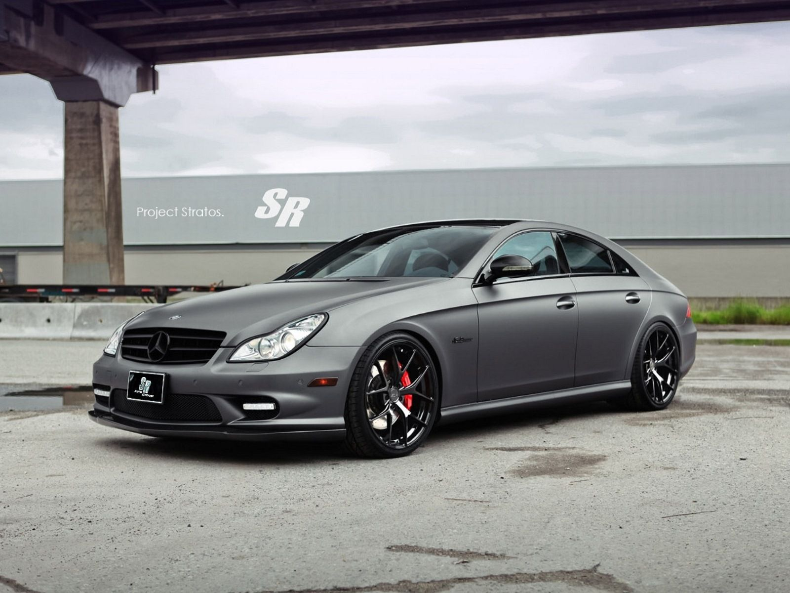 The new 2012 sr auto stratos mercedes benz cls 63 amg is one of the last modern car design with high performance