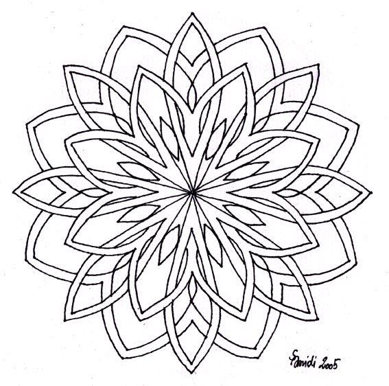 Google Image Result For Garnteuferl Design Freepattern Mandala Mandala0003