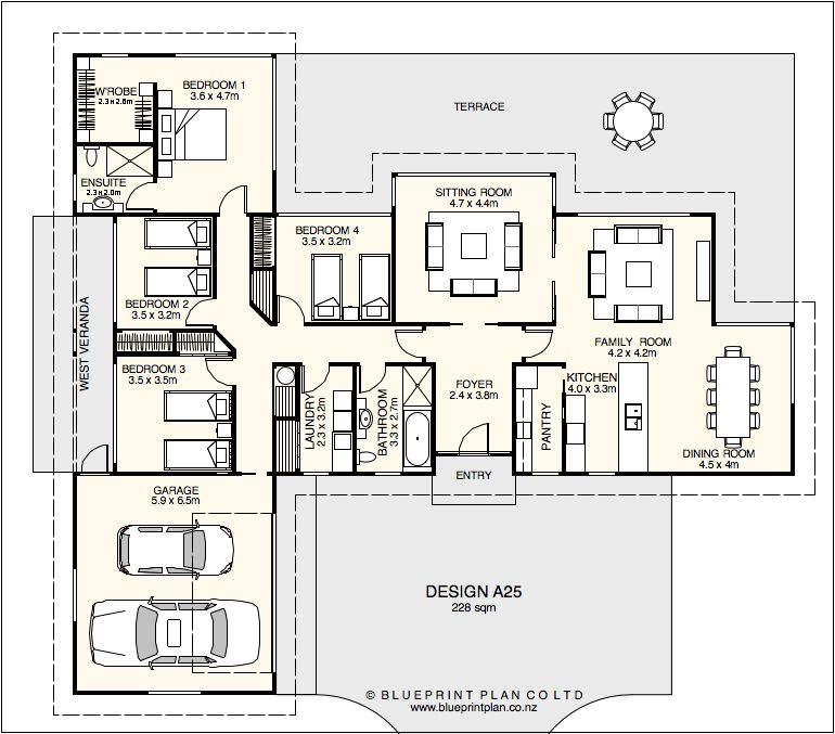 T shaped house plan Home plans Pinterest Pantry ideas