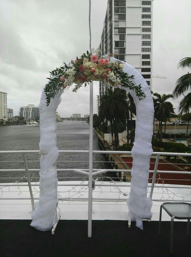 Yacht Weddings Ceremony Decor Ceremony Decorations