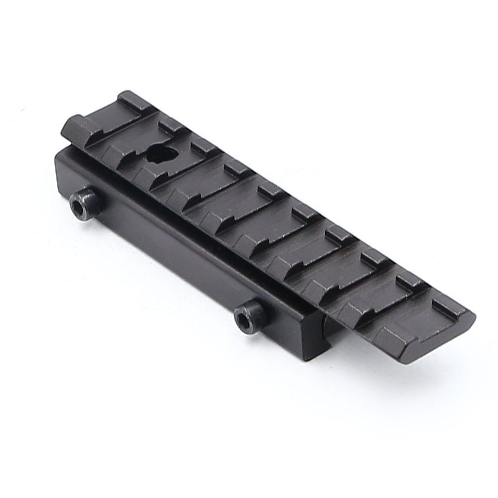 Higooa Dovetail To Weaver Tactical Rail Base Mount 3 8 To 7 8 Converter Adapter 11mm 20mm Check This Awesome Product By Going To Tactical Mounting Adapter