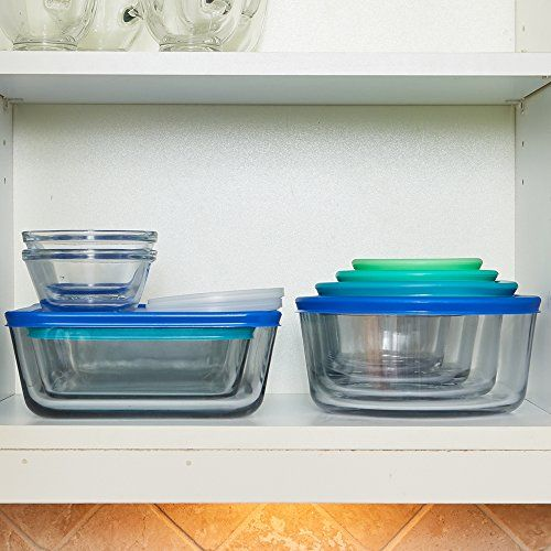 Set Contains 2 6 Oz Glass Custard Cups 2 1 Cup Rounds 2 2 Cup Rounds 1 4 Cup Round 1 Glass Food Storage Containers Glass Food Storage Food Storage