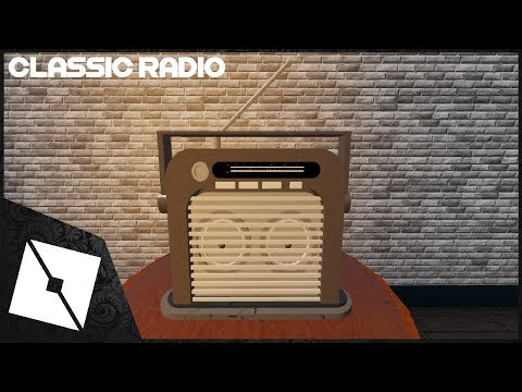 Roblox Studio Speedbuild Classic Radio Youtube Roblox