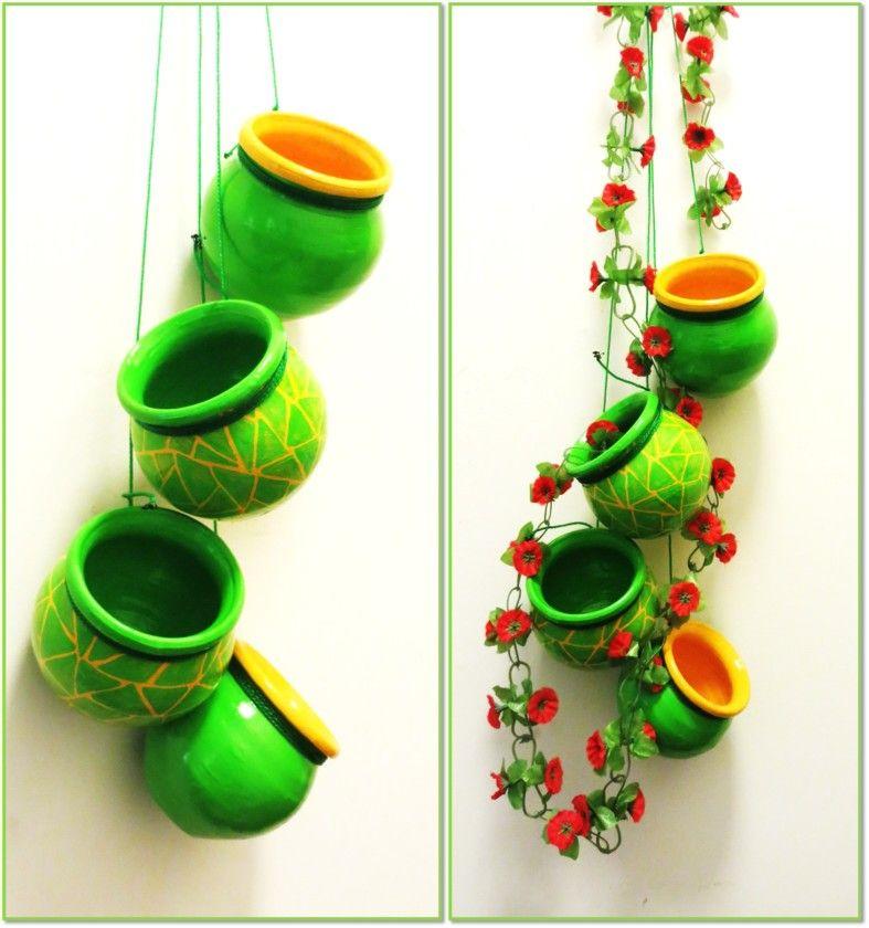 Pots Handmade Decorative Items, Handmade Home Decor, Home Decor Items,  Handicraft, Diwali