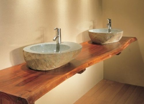Arbeitsplatte Massivholz Design-Küchengestaltung Badgestaltung