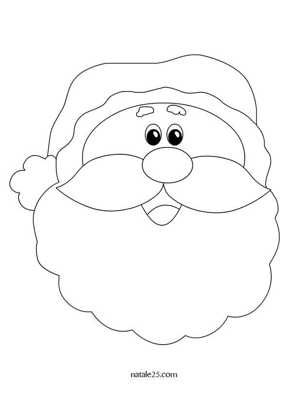 Disegno Di Babbo Natale Da Colorare Babbo Natale Bambini Di