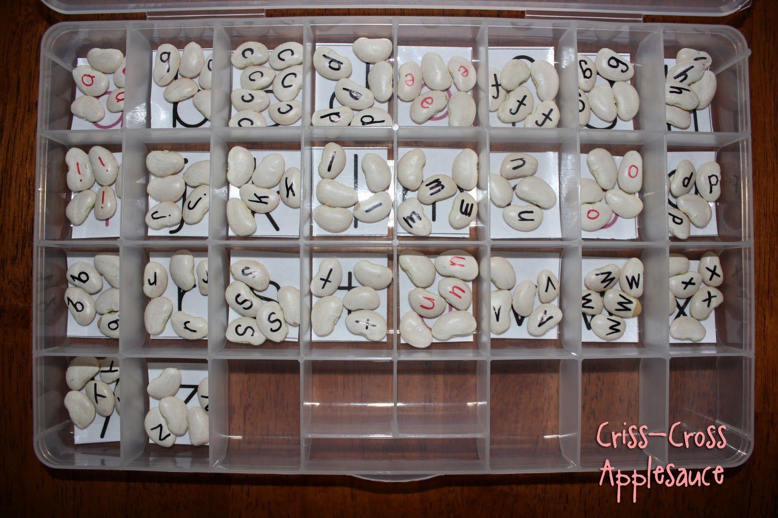 Criss Cross Applesauce Diy Montessori Moveable Alphabet