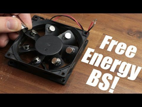 Free Energy Magnet Motor fan used as Free Energy Generator &quot ...