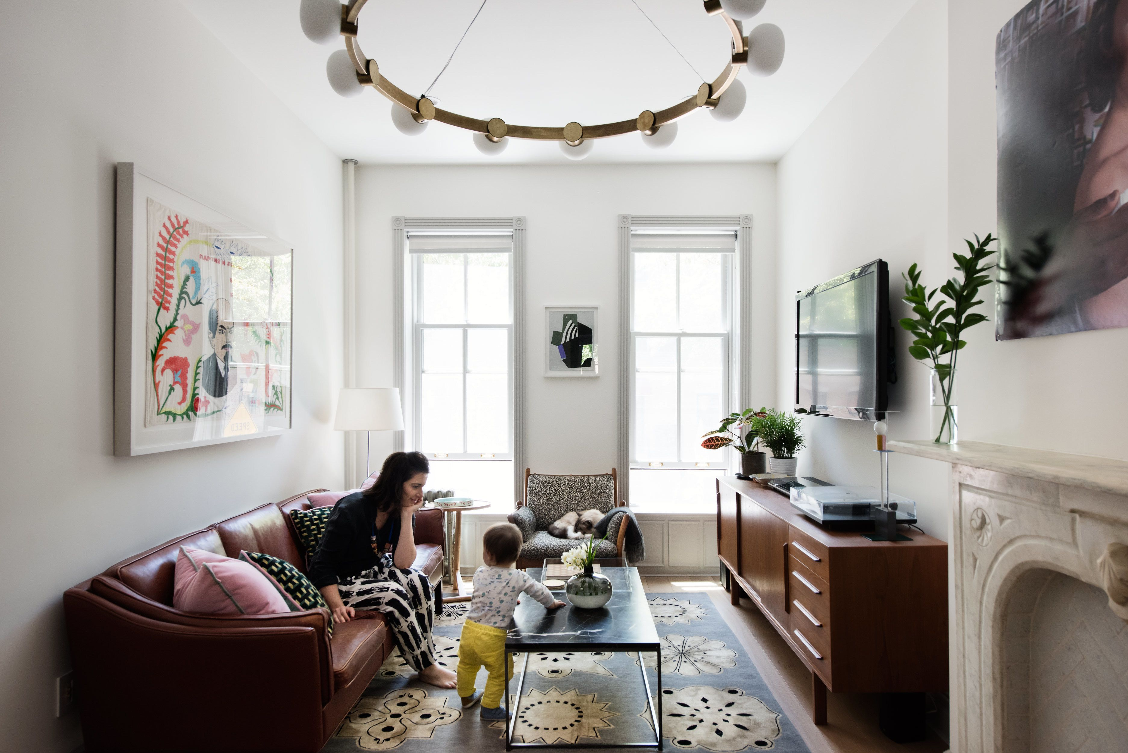 In the Moment from Modern Becomes Eclectic in This Renovated ...