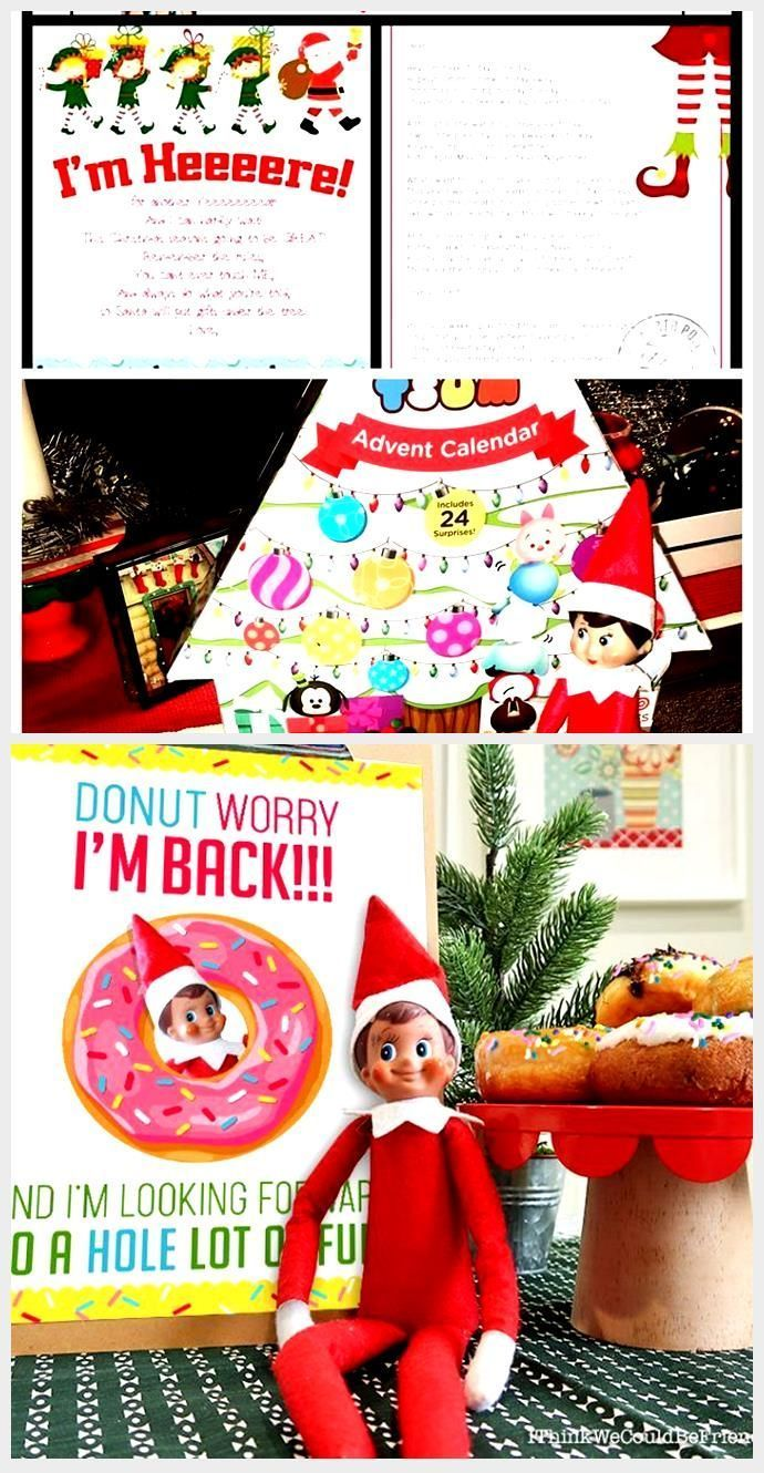 Great Photographs Free printable elf on the shelf arrival