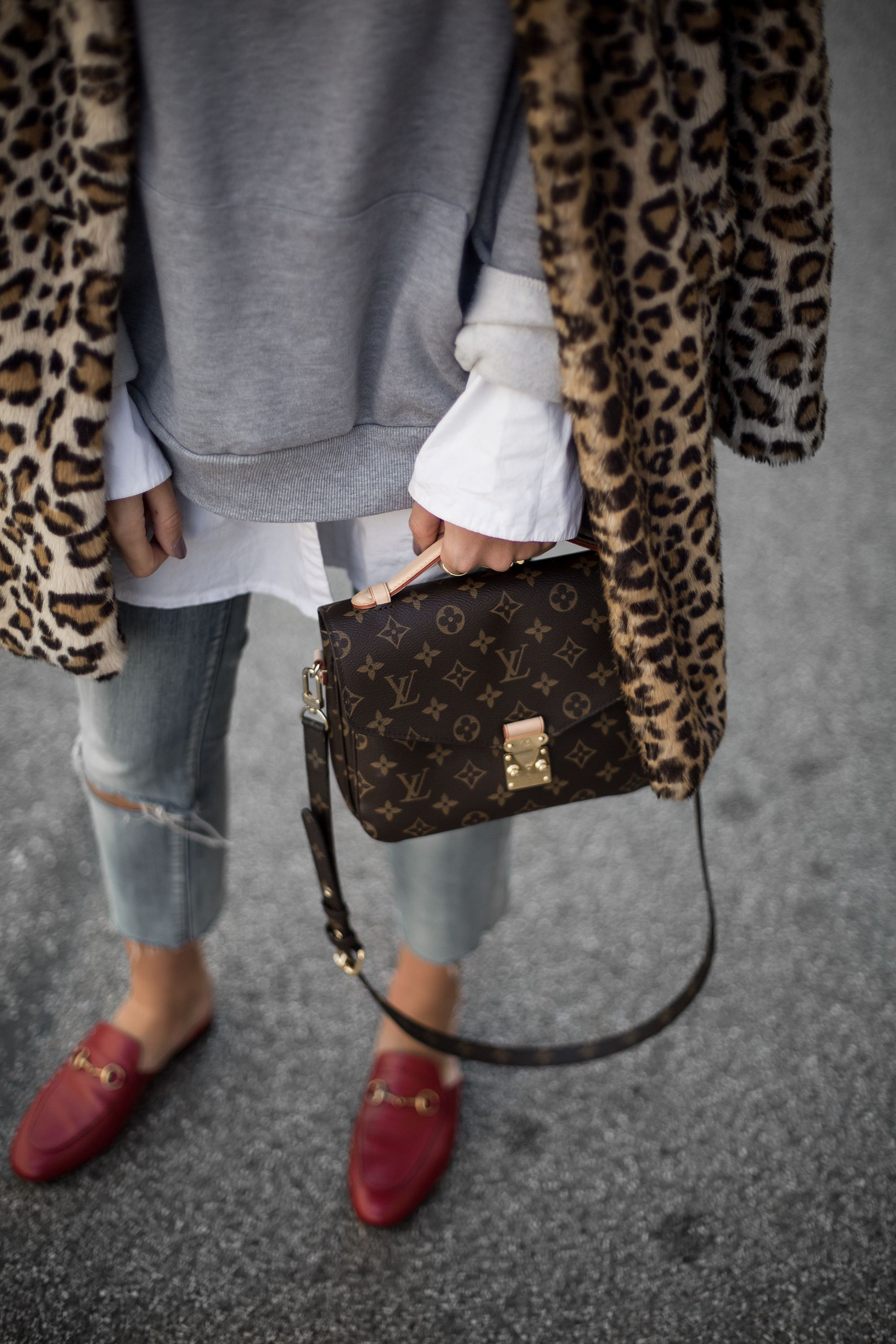 50 FASHION WEEK Street Style Looks • IN FASHION daily. Leopard Loafers  OutfitLoafers For ...