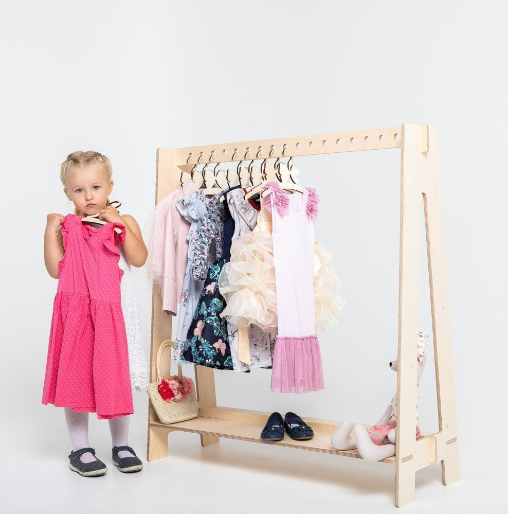 Timber Clothing Rack Kids Clothes