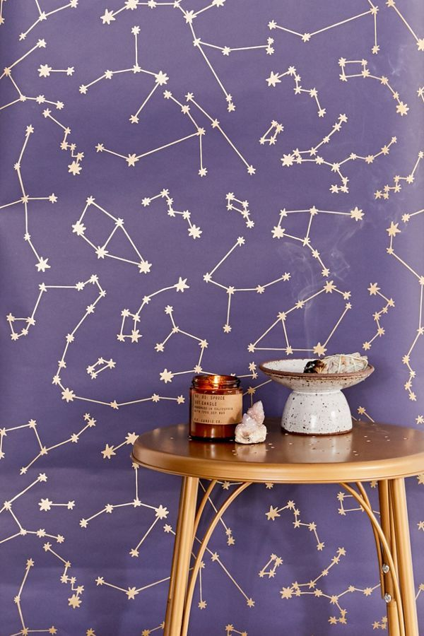 Urban Outfitters Constellations Removable Wallpaper in