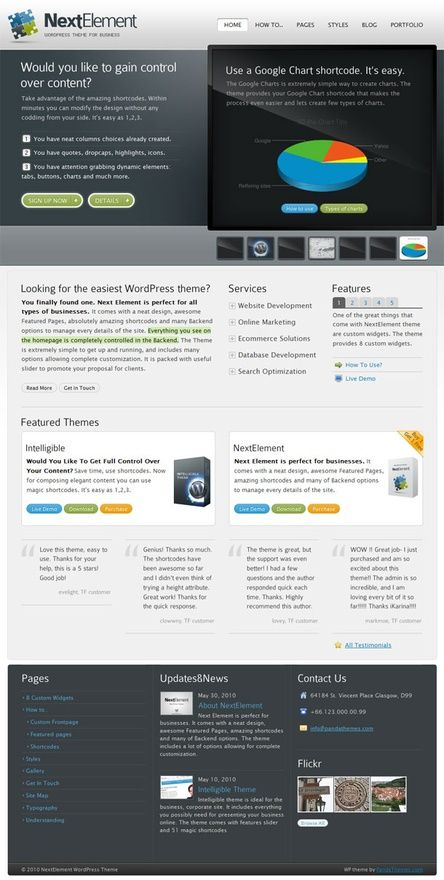 For more detail about Business Themes Wordpress can visit http://www ...