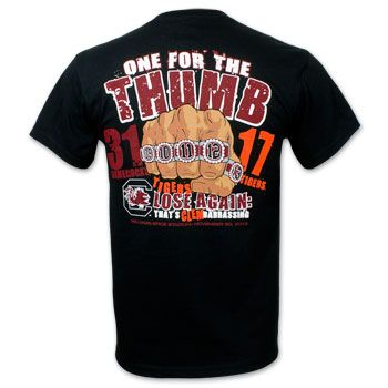 One for the thumb t shirts