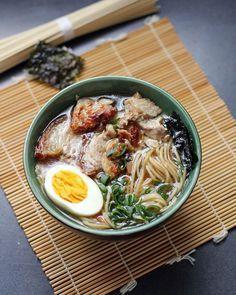 DIY-Ramen-Suppe #foodfriday