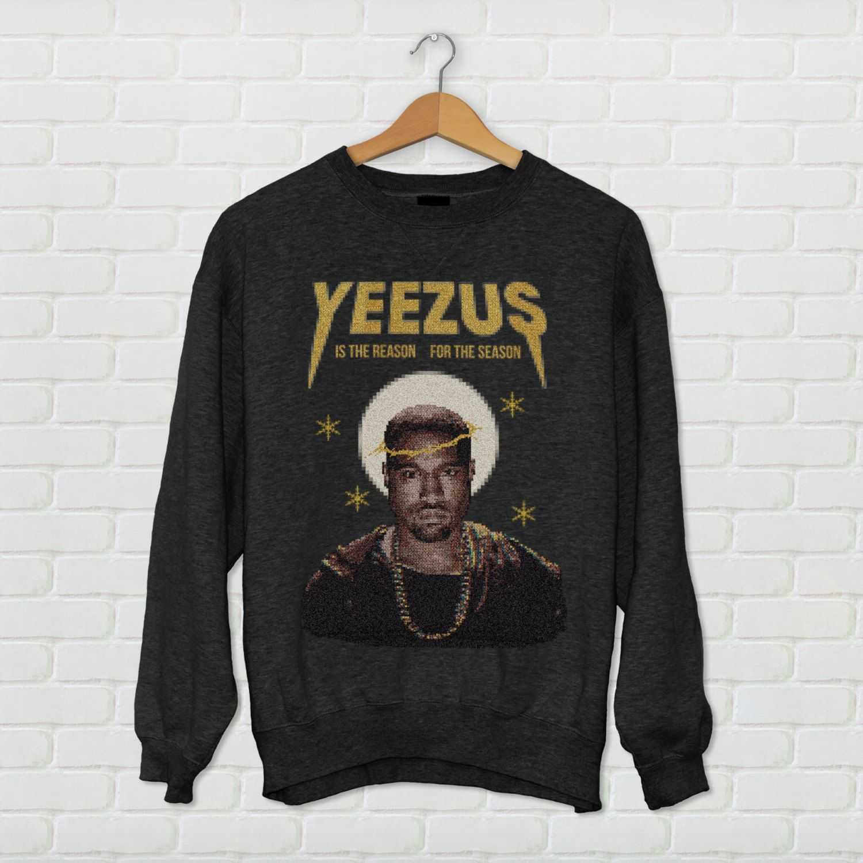 "Kanye West ""Yeezus"" Ugly Christmas Sweater | Kanye West ..."