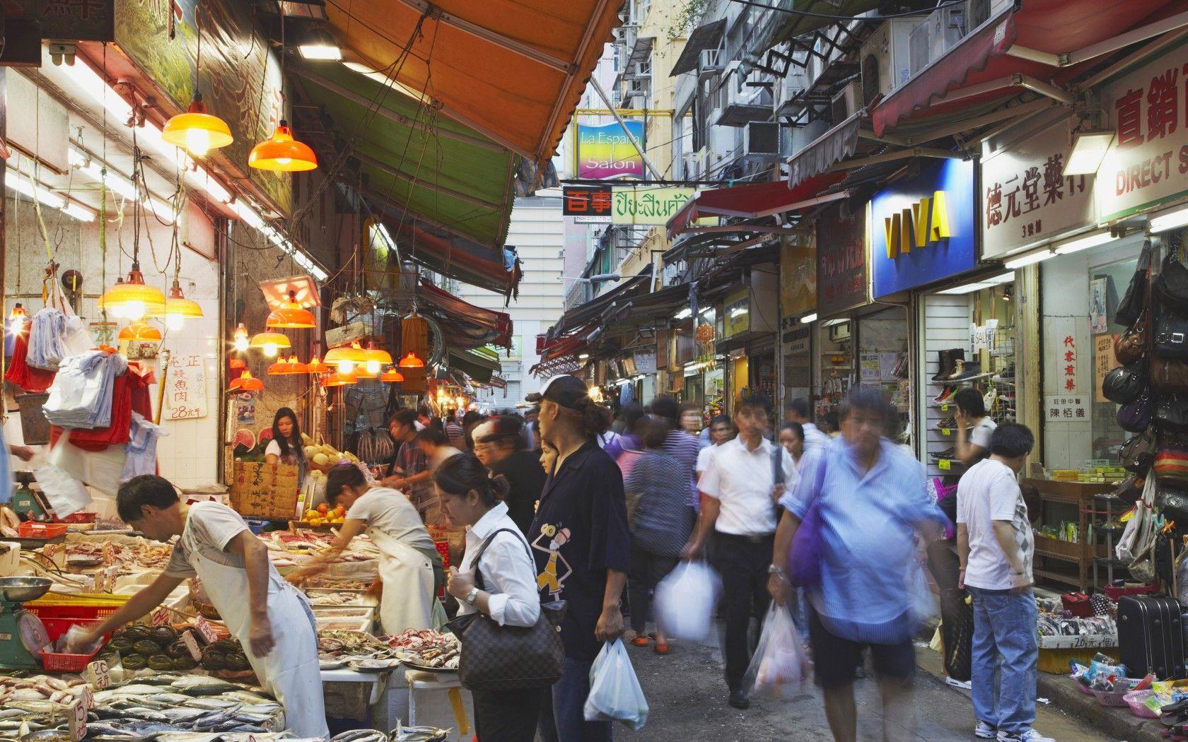 fantastic food markets city travel hong kong and asia