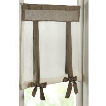 cucina provenzale tende lino - Cerca con Google | Tende finestra ...
