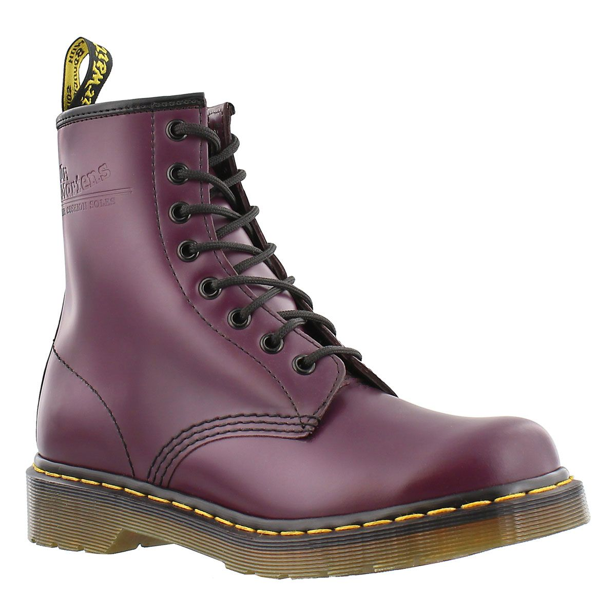 bcd4e20f5bc Women s 1460 8-Eye purple smooth leather boots en 2019