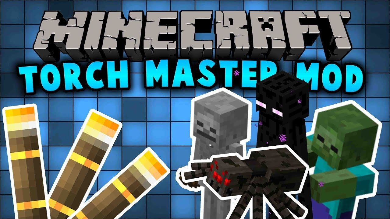 Torchmaster Mod For Minecraft 1 12 And 1 11 2 Provides Three New