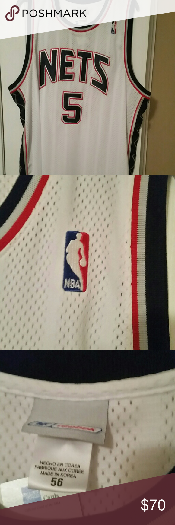 the latest ef330 0aa4e Nba authentic Jason Kidd #5 jersey sz. 56 nwt I have a nba ...