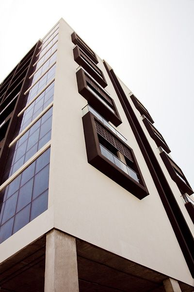 Exterior By Sagar Morkhade Vdraw Architecture 8793196382: EIFS Cladding System Drives ECO Sustainability Of Yas Island Hotels