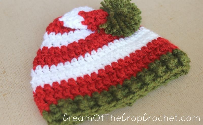 Preemie Newborn Elf Hat Crochet Pattern   Newborn Stuff   Pinterest