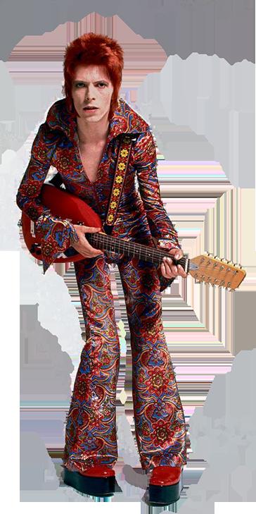 Transparent Background Bowie David Bowie David Bowie Starman