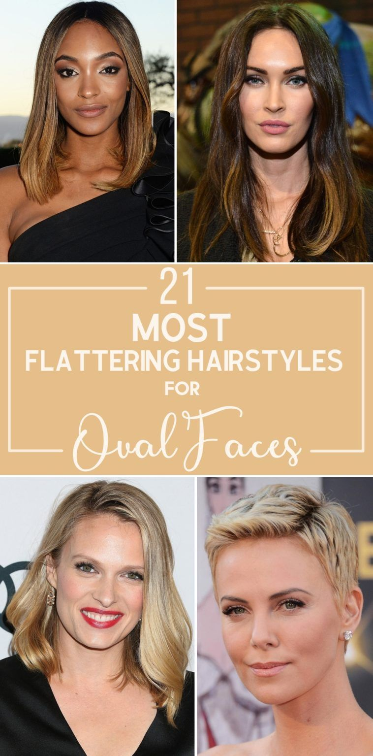 21 Most Flattering Hairstyles For Oval Faces Oval Face Hairstyles Face Shape Hairstyles Oval Face Short Hair