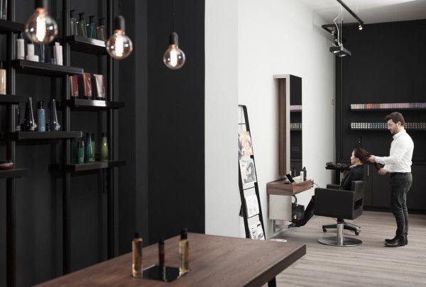 A Minimalist Hair Salon In Dusseldorf Hair Salon Design Hair Salon Decor Hair Salon
