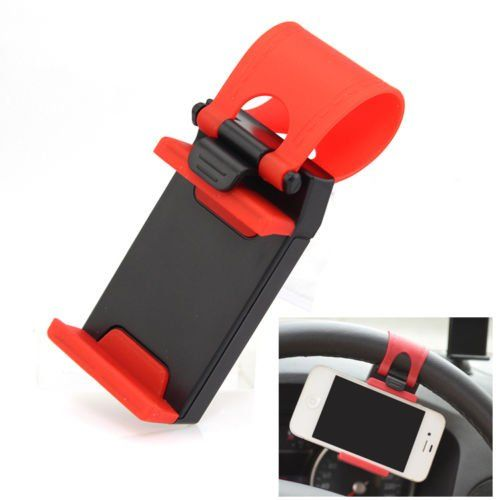 unihandbag Clip Mount Owner CUTE Automobile Wheel Bike For Samsung Apple iphone Phone GPS - http://onlinebusiness-rc.com/carwheels/unihandbag-clip-mount-holder-cute-car-steering-wheel-bike-for-samsung-iphone-phone-gps/