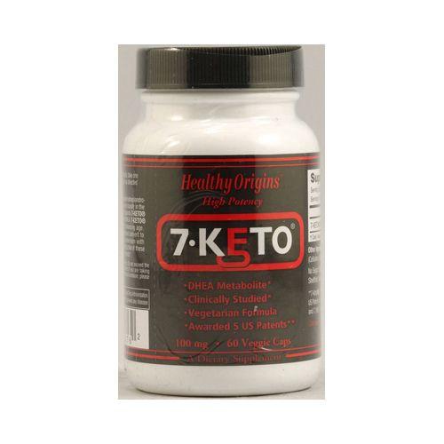 Healthy Origins 7-Keto DHEA Metabolite 100 mg (60 Veg Capsules)
