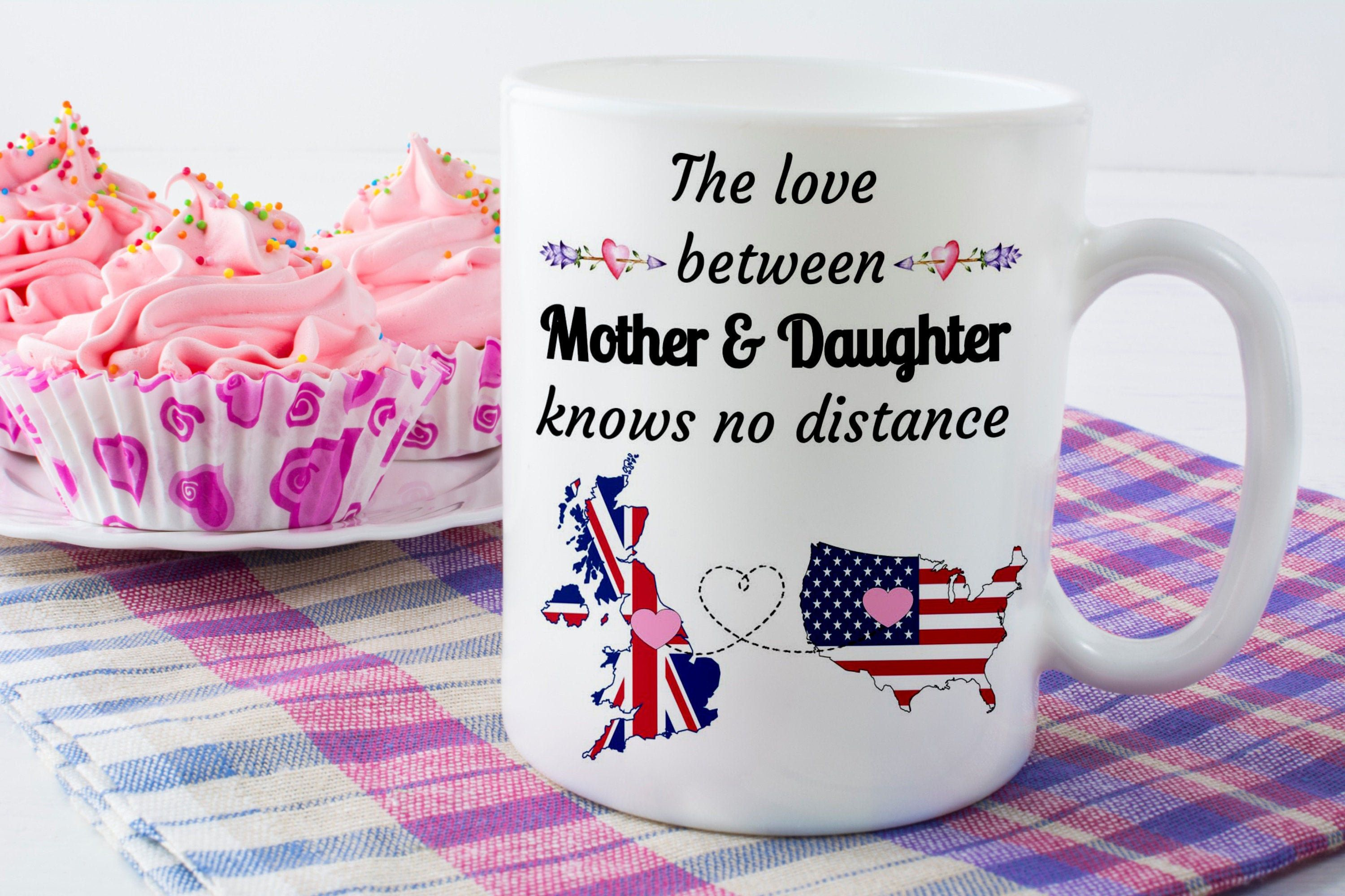 Long distance mug for mother and son or mother daughter