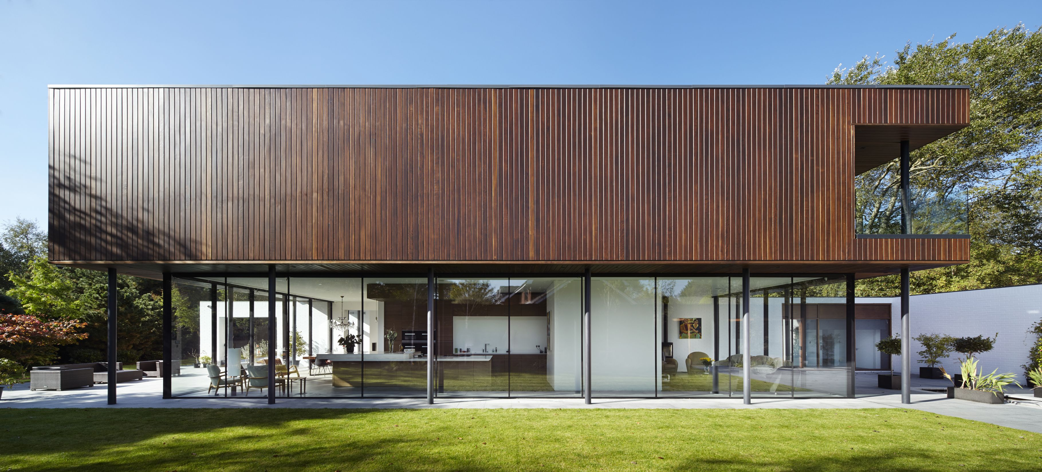 Shortlist Announced For RIBA North West Awards-House in Formby Merseyside / shed km. & Pin by Emma Carter on Exterior | Pinterest | Wood architecture ...