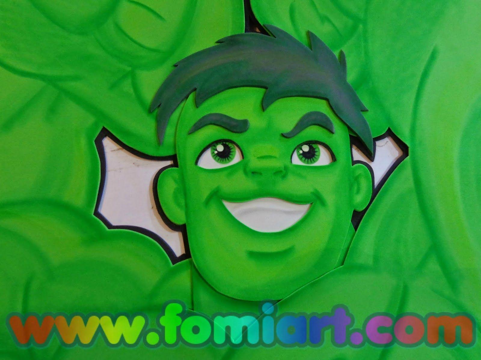 Super Hero Squad Hulk Fomiart Fomiart Pinterest
