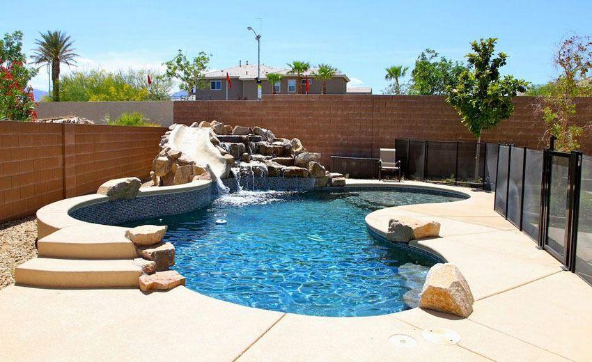 27 Best Kidney Shaped Pool Designs Kidney Shaped Pool Pools Backyard Inground Pool Landscaping