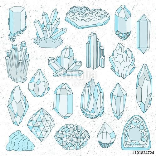 Vector Drawing Lines Game : Bildergebnis für crystal illustration doodles and art
