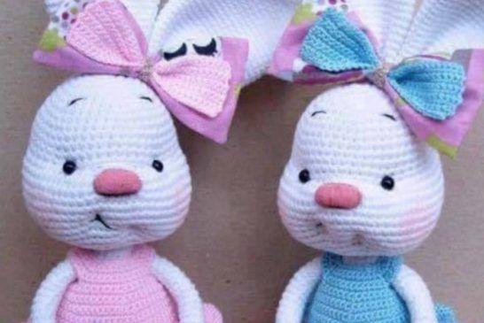 Amigurumi Nyuszik : Crochet stones will look beautiful in your home jacket pattern